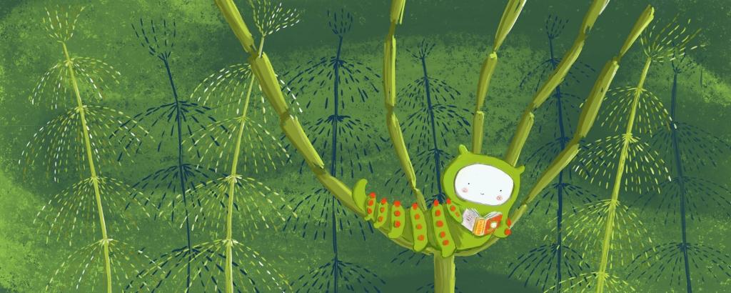 Maija Hurme är majmånads illustratör