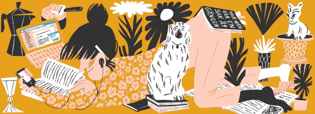 Ulla Donner är månadens illustratör i mars