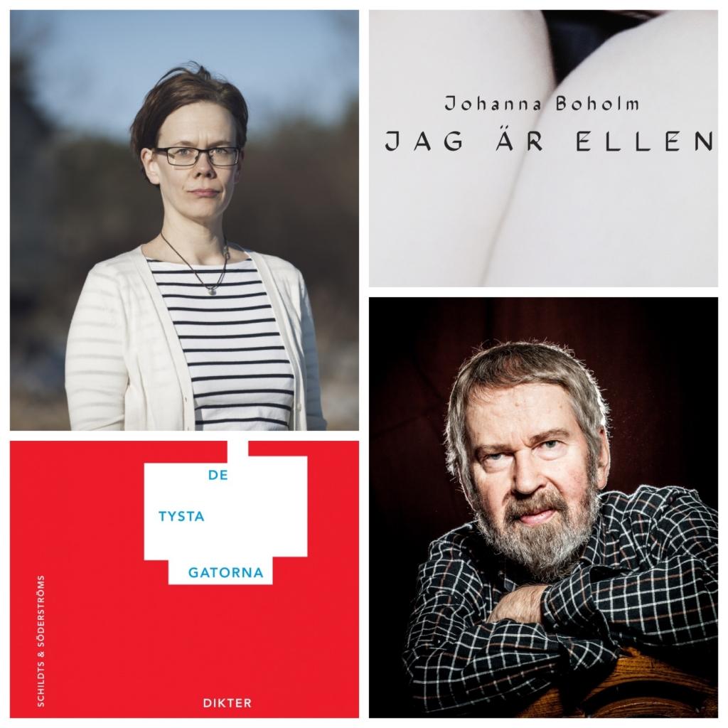 Bäck och Boholm nominerade till Nordiska rådets litteraturpris