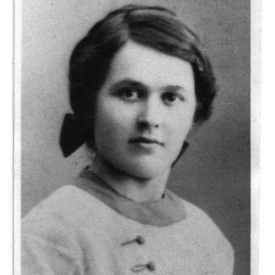 Bild på Ines Nyberg. Privat arkiv