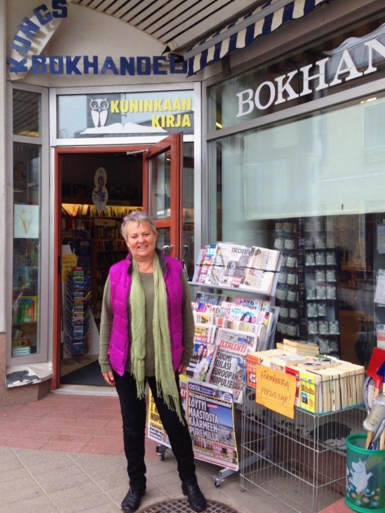 Grattis Kungsbokhandeln i Ekenäs – första mottagaren av S&S nyinstiftade bokhandelspris