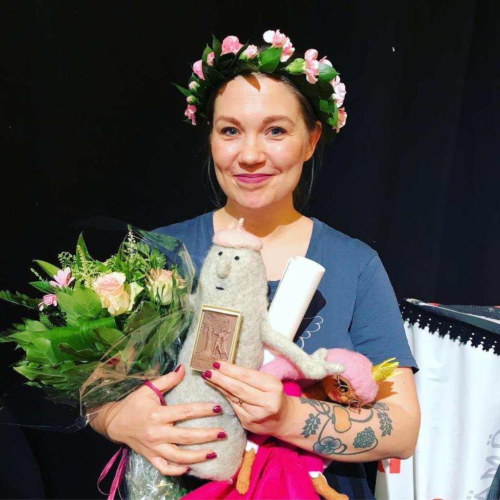 Rudolf Koivu-priset till Sanna Mander!