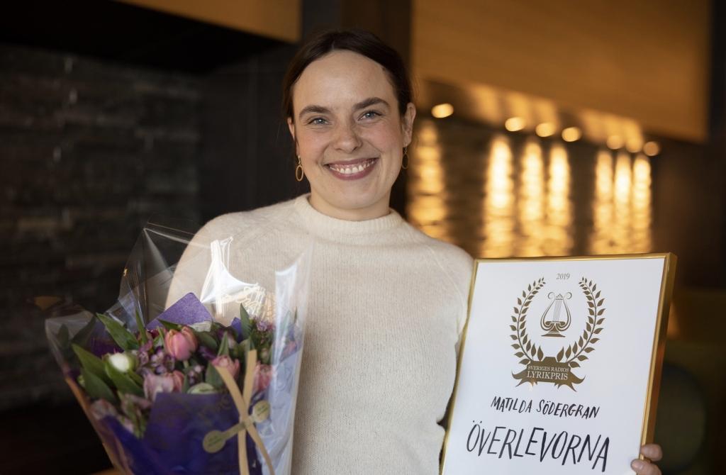 Sveriges Radios Lyrikpris till Matilda Södergran!