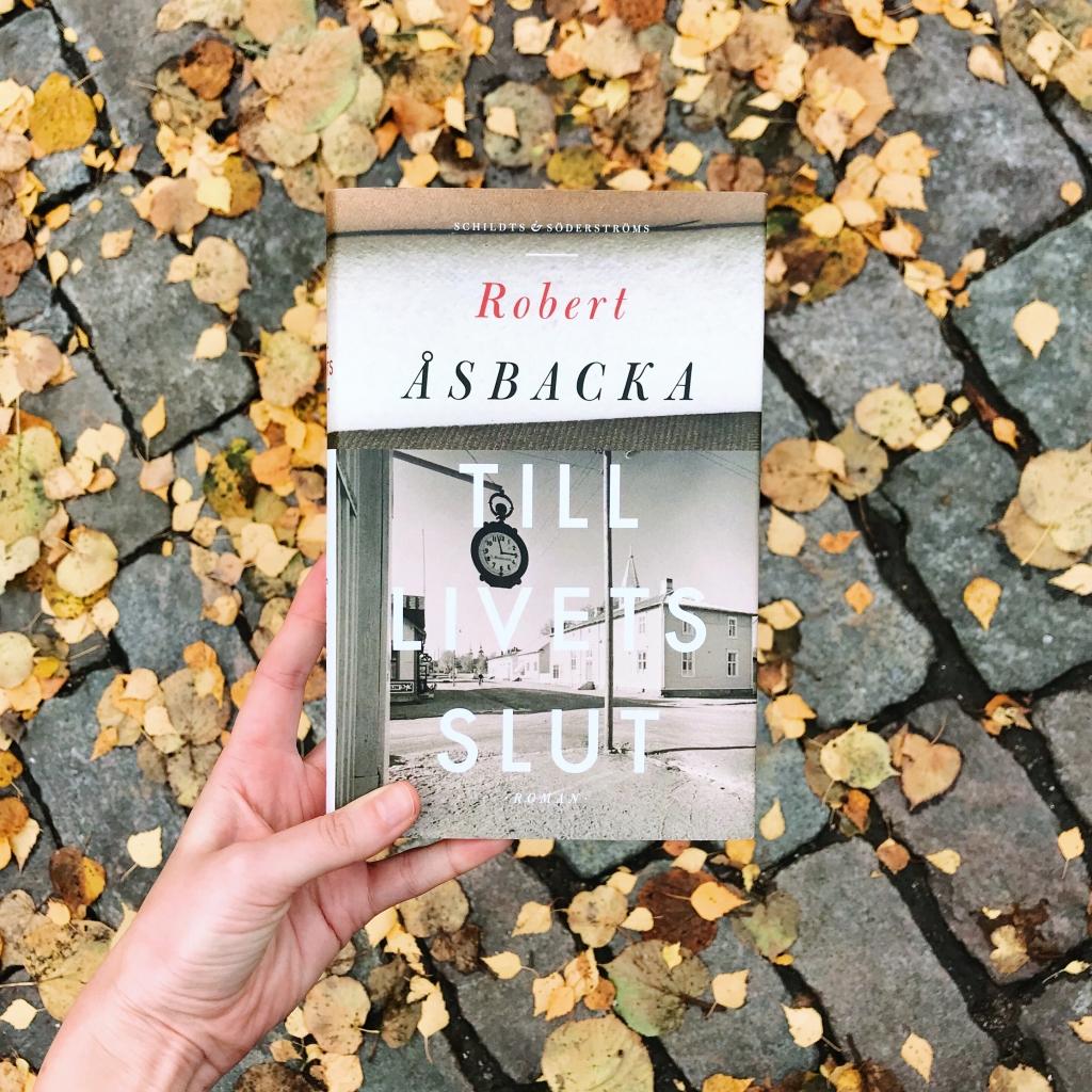 Ny efterlängtad roman av Robert Åsbacka!