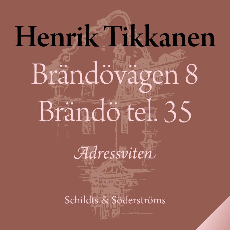 Brändövägen 8 Brändö tel. 35
