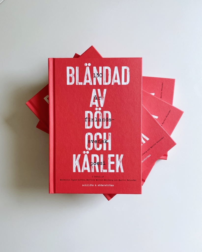 Bländad av död och kärlek firar 130 år av finlandssvensk poesi